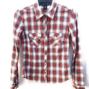 Abercrombie & Fitch Western Shirt